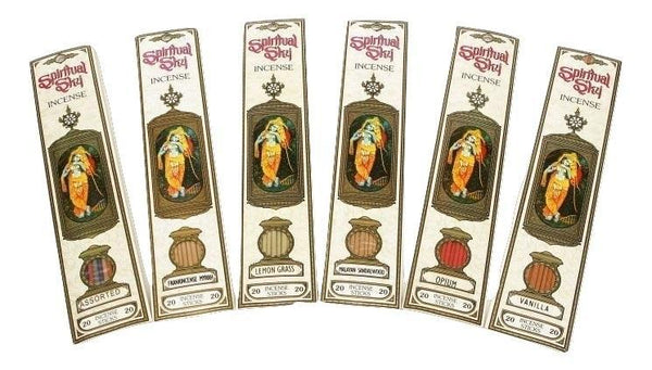 Spiritual Sky Musk Frankincense Incense Sticks - 100 Grams - The Hippie House