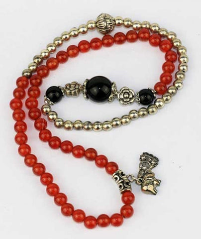 Stone Necklace Carnelian - The Hippie House