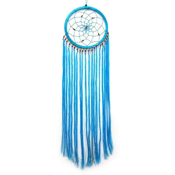 Aqua String Dream Catcher - The Hippie House