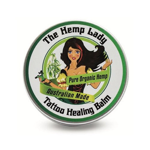 Organic Hemp Tattoo Healing Balm - The Hippie House
