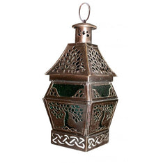 Tree of Life Copper Lantern - The Hippie House