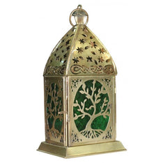 Tree of Life Gold Lantern - The Hippie House