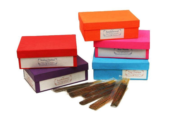 Tulsi Exclusives Sandalwood Incense Sticks - 100 Grams - The Hippie House