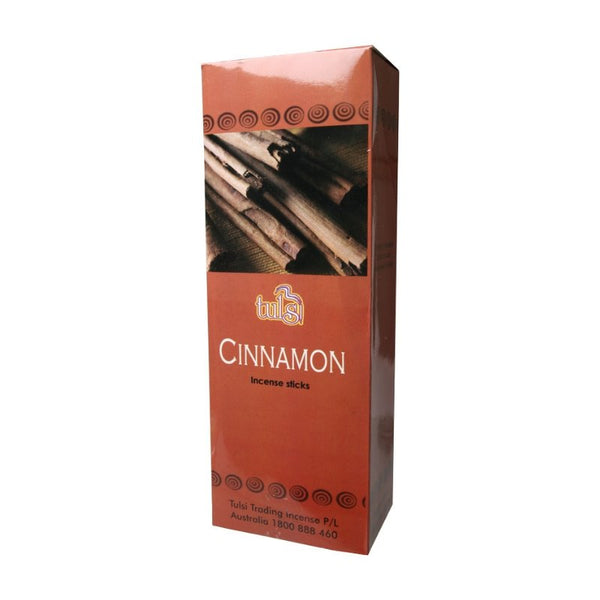 Tulsi Cinnamon Incense Sticks - 6x20g - The Hippie House