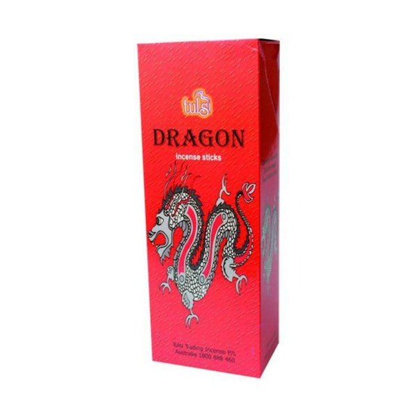 Tulsi Dragon Incense Sticks - 8x25g - The Hippie House