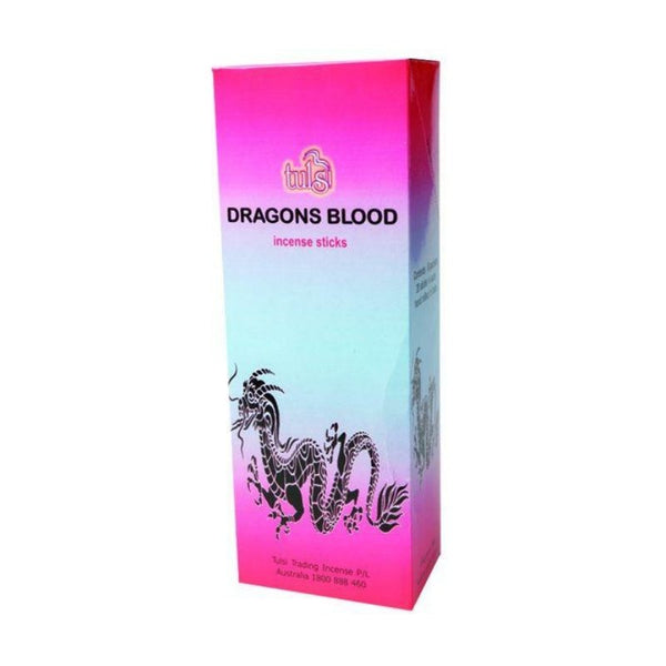 Tulsi Dragon's Blood Incense Sticks - 6x20g - The Hippie House