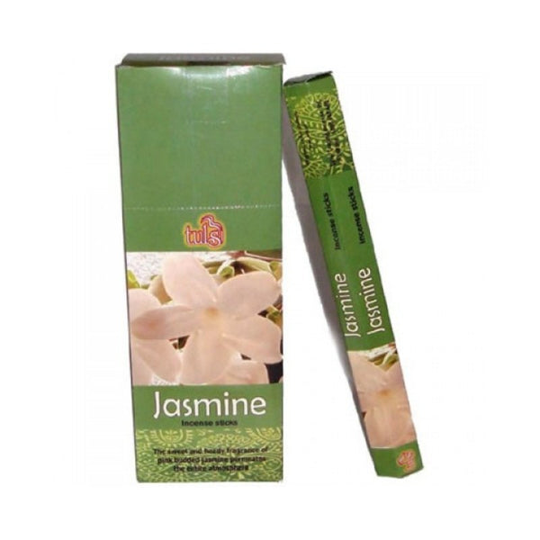 Tulsi Jasmine Incense Sticks - 6x20g - The Hippie House
