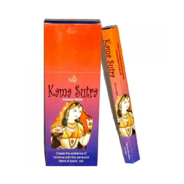 Tulsi Kama Sutra Incense Sticks - 6x20g - The Hippie House