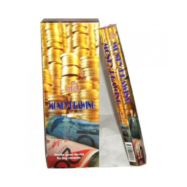 Tulsi Money Drawing Incense Sticks - 6x20g - The Hippie House