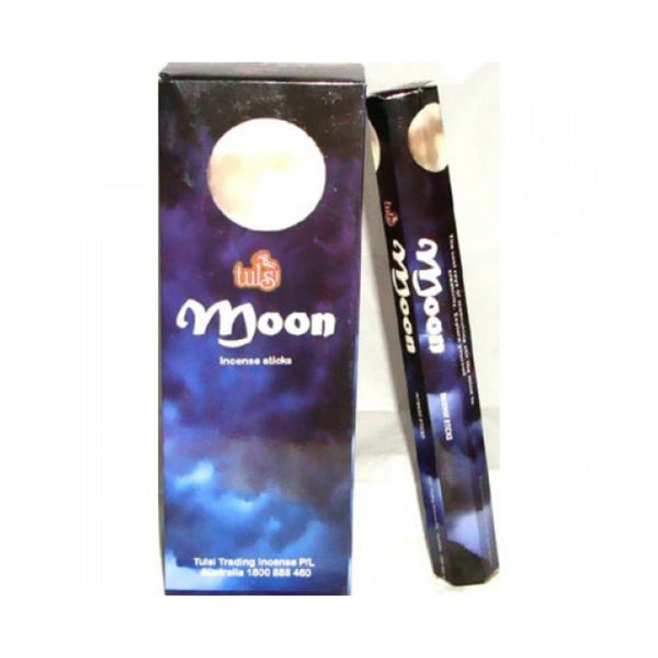 Tulsi Moon Incense Sticks - 6x20g - The Hippie House