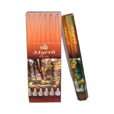 Tulsi Myrrh Incense Sticks - 8x25g - The Hippie House