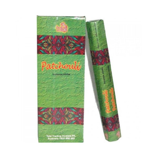 Tulsi Patchouli Incense Sticks - 6x20g - The Hippie House