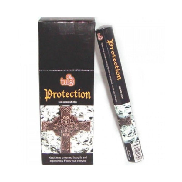 Tulsi Protection Incense Sticks - 8x25g - The Hippie House