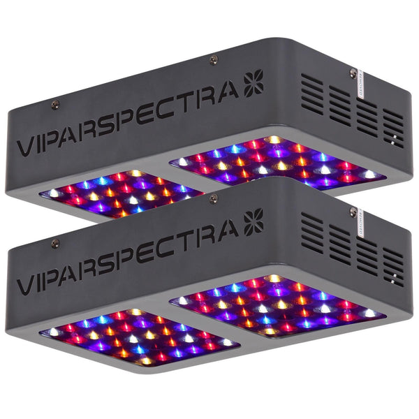 2 Viparspectra 300 Watt LED Grow Lights - The Hippie House