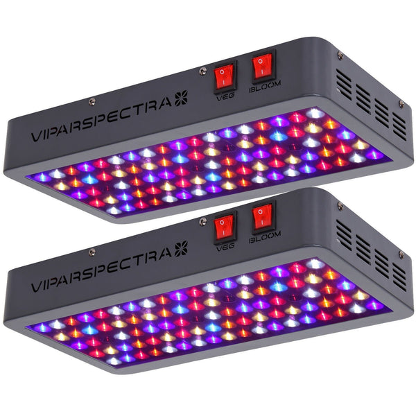 2 Viparspectra 450 Watt LED Grow Lights - The Hippie House