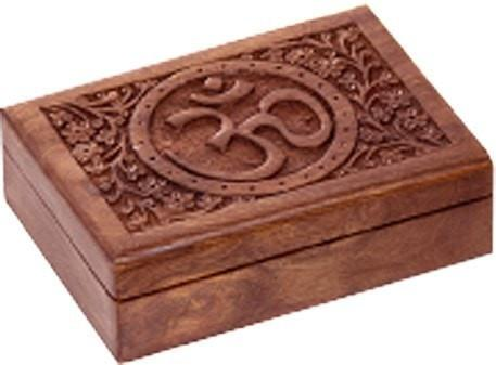 OM Wooden Box - The Hippie House