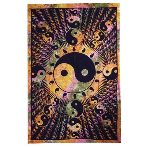 Ying And Yang Tapestry - The Hippie House
