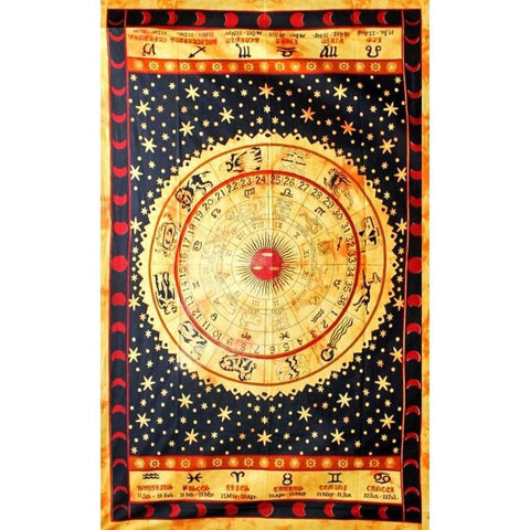 Zodiac Ring Tapestry - The Hippie House