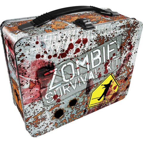 Zombie Survival Kit Metal Lunch Box - The Hippie House
