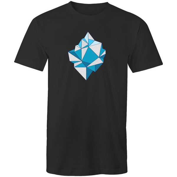 Men's Abstract Iceberg T-shirt - The Hippie House