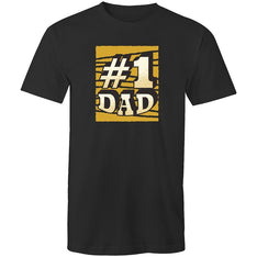Men's #1 Dad T-shirt - The Hippie House