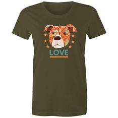 Women's Puppy Love T-shirt - The Hippie House
