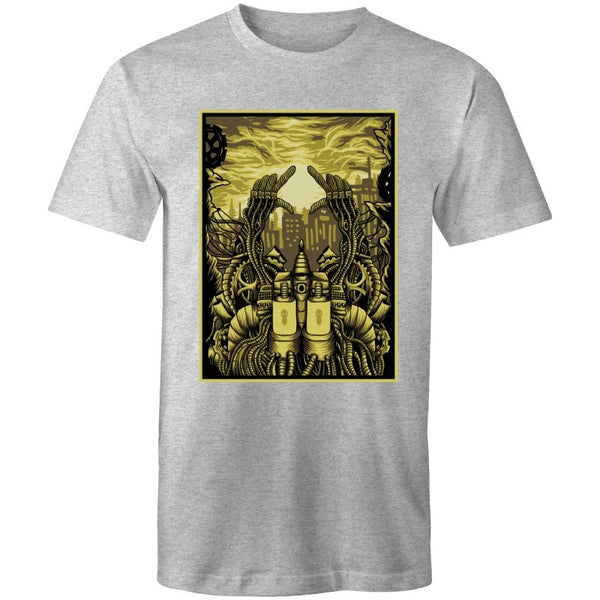 Men's Alien City Graphic T-shirt - The Hippie House
