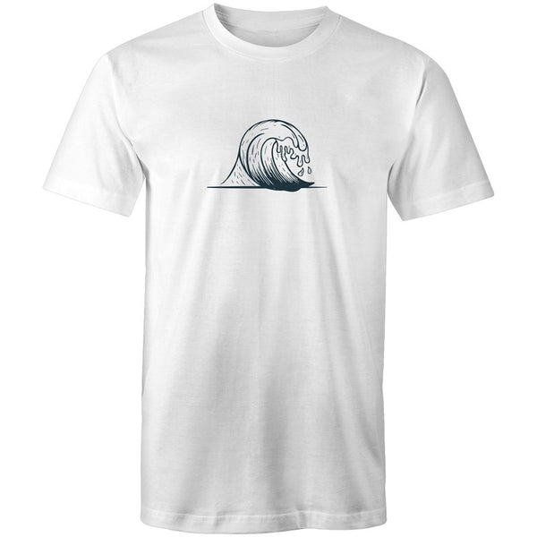 Men's Center Wave T-shirt - The Hippie House