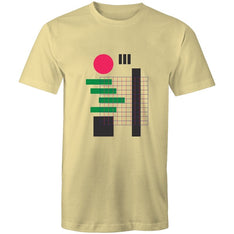 Men's Abstract Japit T-shirt - The Hippie House