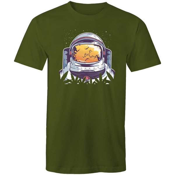 Men's Astronaut Stoner T-shirt - The Hippie House