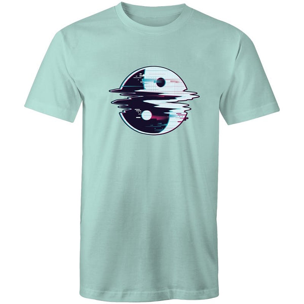 Men's Ying-Yang Glitch T-shirt - The Hippie House