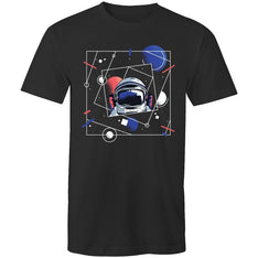 Men's Abstract Universe T-shirt - The Hippie House