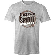 Men's Coffee Is My Spirit Animal T-shirt - The Hippie House