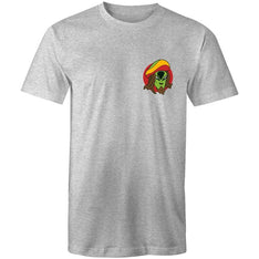 Men's Rasta Alien Pocket T-shirt - The Hippie House