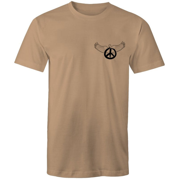 Men's Peace Dove Pocket T-shirt - The Hippie House