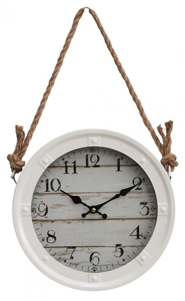 Hanging Wall Clock - Naturale - The Hippie House