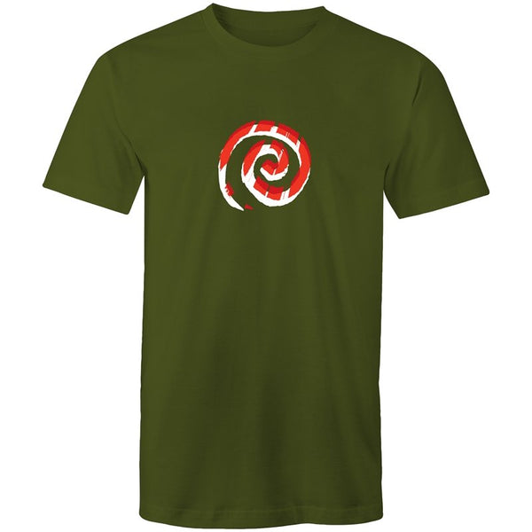 Men's Abstract Swirl T-shirt - The Hippie House