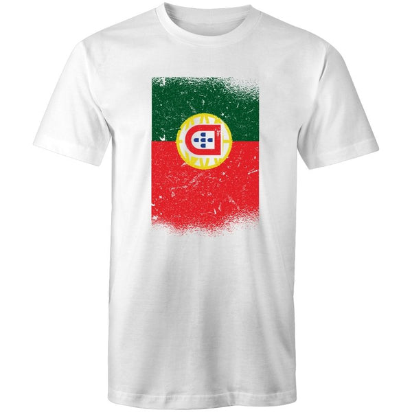 Men's Abstract Portuguese Flag T-shirt - The Hippie House