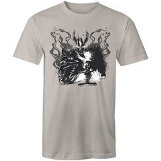 Men's Abstract Knight T-shirt - The Hippie House