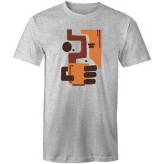 Men's Abstract Coffee T-shirt - The Hippie House