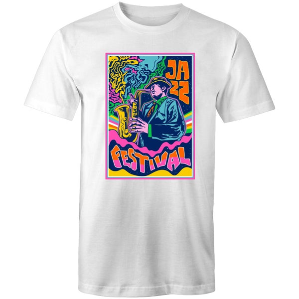 Men's Jazz Festival T-shirt - The Hippie House
