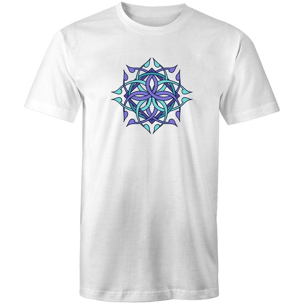 Men's Abstract Chest T-shirt - The Hippie House