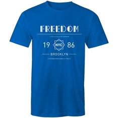 Men's Freedom Graphic Print T-shirt - The Hippie House