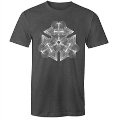 Men's Abstract Geometric Graphic Tee - The Hippie House