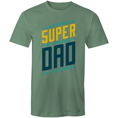 Men's Super Dad Quote T-shirt - The Hippie House
