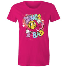 Women's Funny Drugs Are Bad T-shirt - The Hippie House