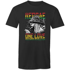 Men's Reggae One Love T-shirt - The Hippie House