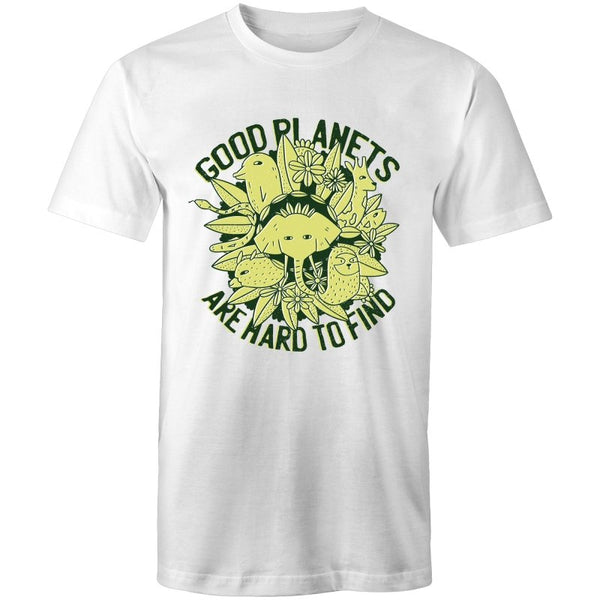 Men's Good Planets Are Hard To Find T-shirt - The Hippie House