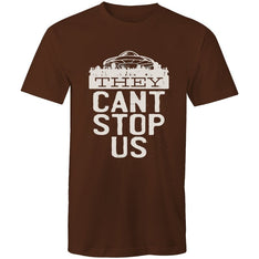 Men's Funny They Can't Stop Us T-shirt - The Hippie House