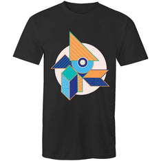 Men's Abstract Cubism T-shirt - The Hippie House